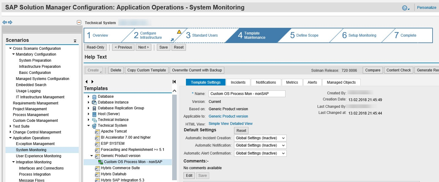 Custom OS Process Monitoring in SAP Solution Manager