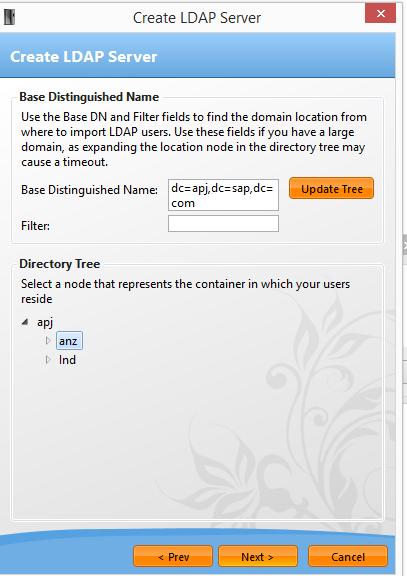 LDAP setup in VE Generator - SAP Visual Enterprise - SCN Wiki