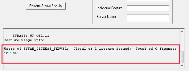 sysam license server