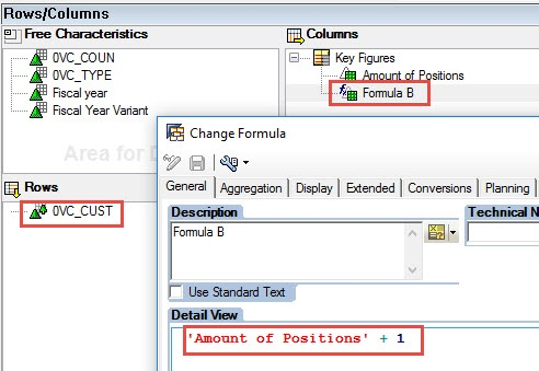 Hierarchy and Formula: Example - SAP NetWeaver Business Warehouse