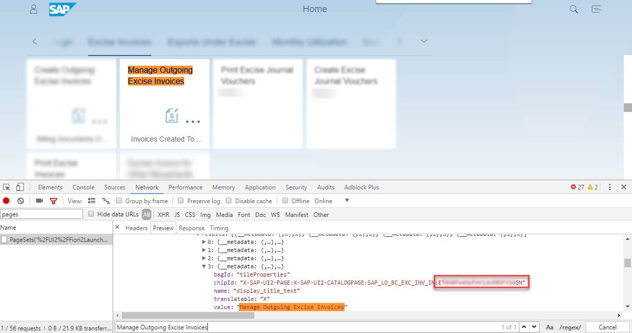 How to get the instance ID of a Fiori tile - SAP Fiori - SCN Wiki