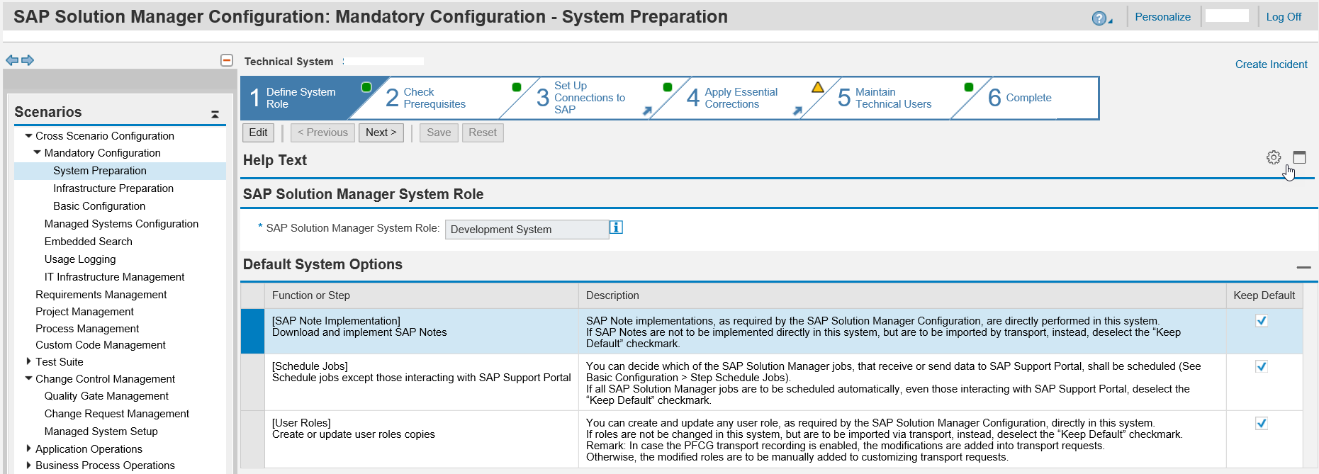How to configure SAP Solution Manager 7 2 - Change Request