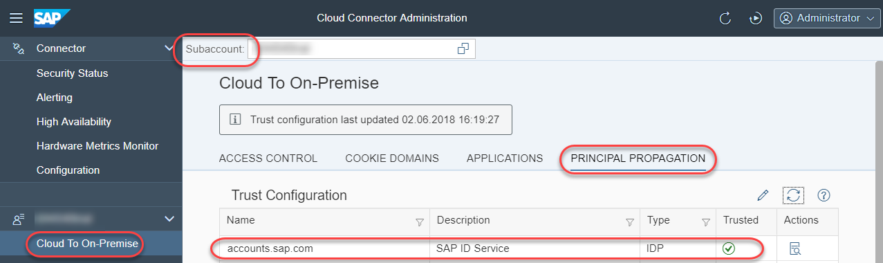 How to troubleshoot Cloud Connector principal propagation