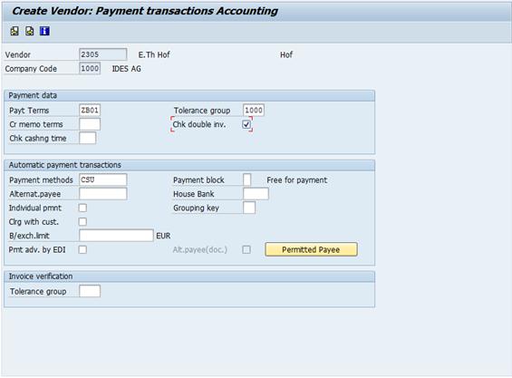 Duplicate Invoice Check - ERP Financials - SCN Wiki