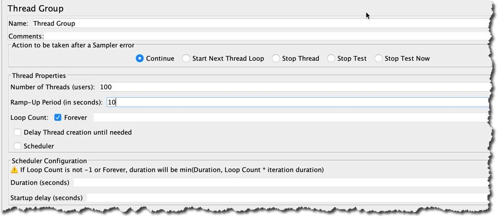 Jmeter Loop Count
