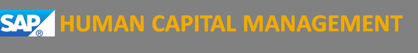 ERP Human Capital Management  ERP Human Capital Management  SCN Wiki