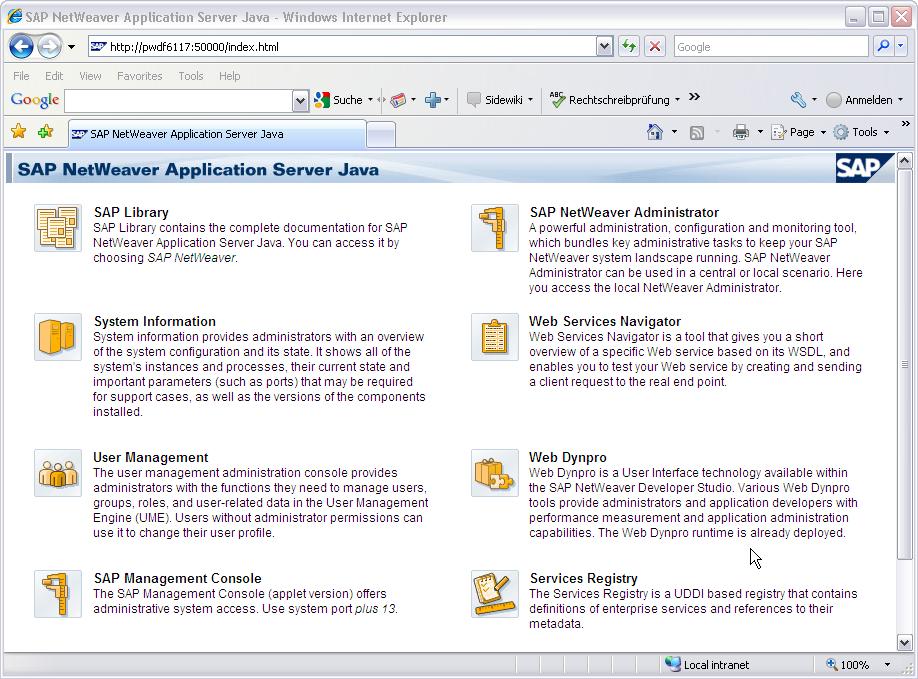 sap netweaver application server versions