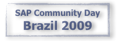 SAP Community Day Brazil 2009