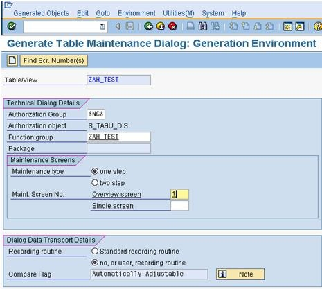 Table Maintenance Generator And Its Events Abap Development Scn Wiki