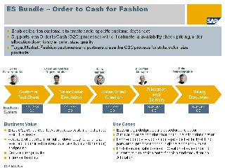 Order to Cash for Fashion - Enterprise Services WIKI - SCN Wiki